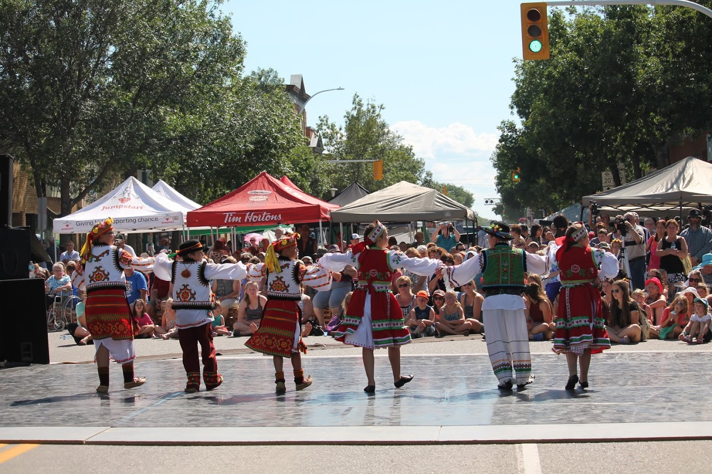 Street Dancing in Dauphin - Photo Credit: Tourism Dauphin